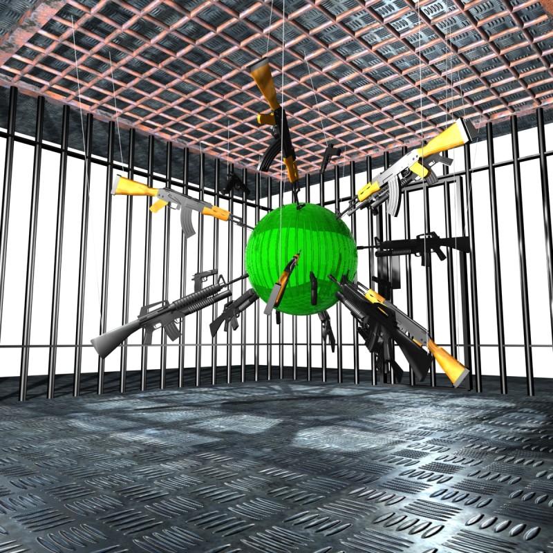 Interior of La Cage