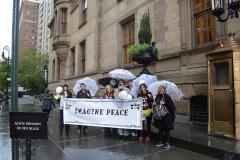 Dakota with Peace Team