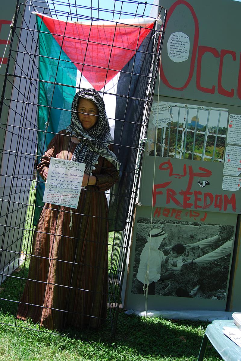 Prisoner in Palestine