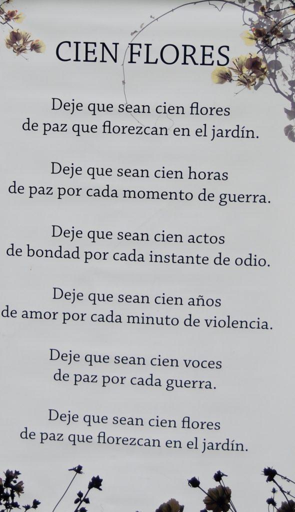 100 Flowers Spanish